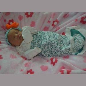 Newborn/Baby Mermaid Nightgown